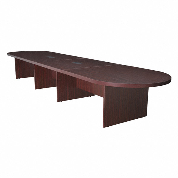 Regency conference table 52 in x 16 ft mahogany 12u539 for 12 ft conference table