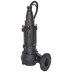 3 HP Sludge Pump with  Cast Iron Base Material and Cast Iron Housing