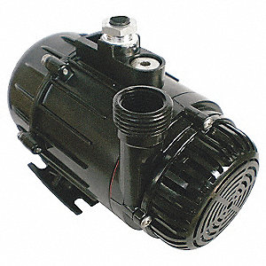 1/10 HP Compact Submersible Pump, 115V Voltage, Continuous Duty, 6 ft. Cord Length