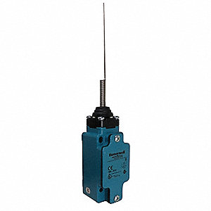 Wobble Stick General Purpose Limit Switch; Location: Top, Contact Form: 1NC/1NO, Wobble Movement