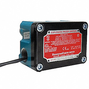 Rotary, Roller Lever Explosion Proof Limit Switch; Location: Top, Contact Form: 2NC/2NO, CCW Movemen