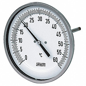 THERMOMETER RESETTABLE 2.5 IN STEM