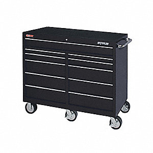 CHEST TOOL BLACK 52IN 11 DRAWER