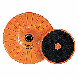 4IN QS BACKING PAD 5/8IN-11
