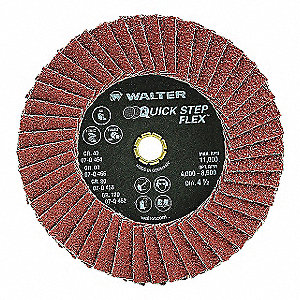 6IN GR40 QS FLAP DISC