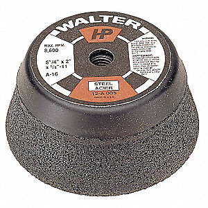 "HP CUP WHEELS TYPE11 4""X5/8""-11"""