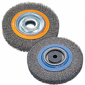 6IN BENCH GRINDER BRUSHES