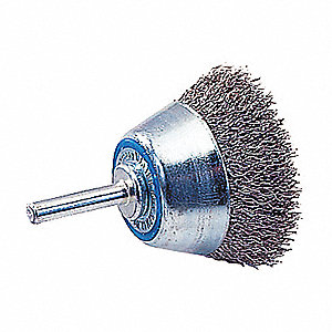 "MTDWIREBRUSH CRIMPED CUP 1/2""X .0118"""