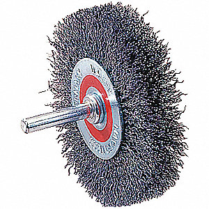 1-3/8IN MOUNTED WHEEL BRUSH
