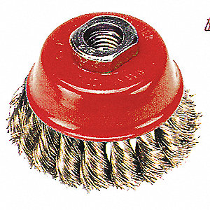 3IN M10X1.5 WIRE CUP BRUSH