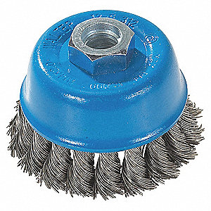 3IN M10X1.25 STST CUP BRUSH