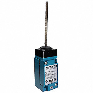 Wobble Stick Heavy Duty Limit Switch; Location: Top, Contact Form: 1NC/1NO, Wobble Movement