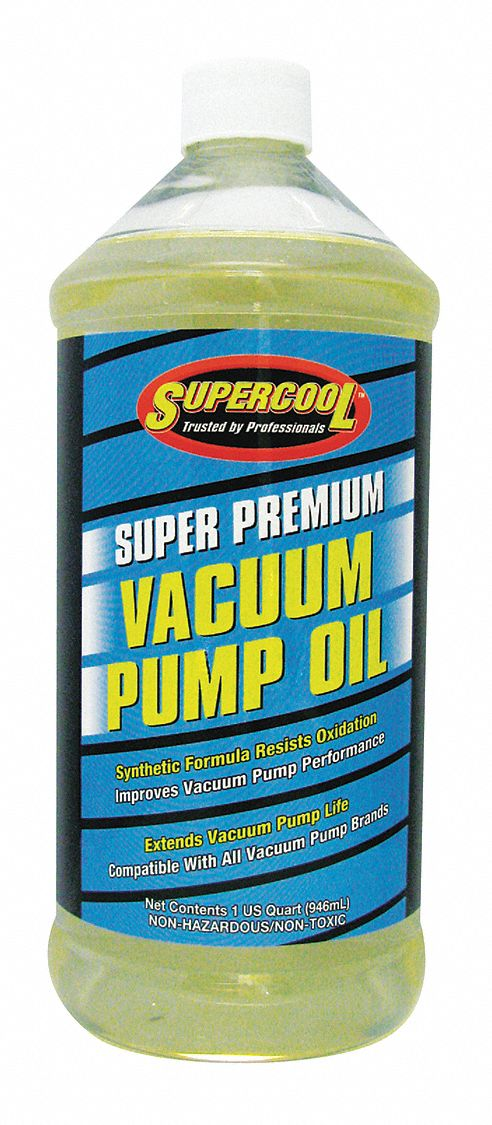 Vacuum Pump Oil, 32 oz Container Size