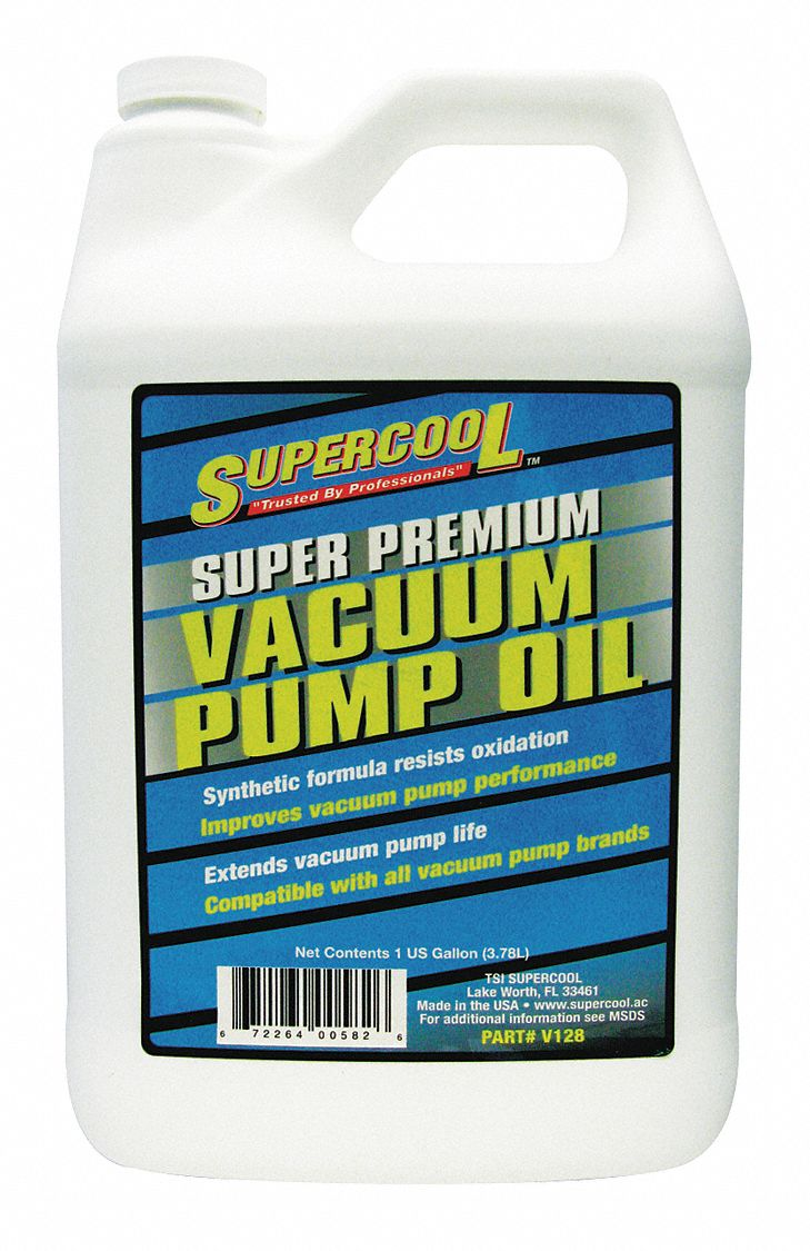 Vacuum Pump Oil, 1 gal Container Size