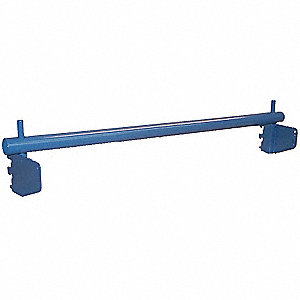 Roll Holder,98 W x 4 D x 4 in. H,Gray