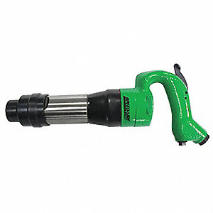 Industrial Duty Air Chipping Hammer, Blows per Minute: 2400, Stroke Length: 3-39/64""