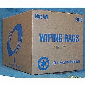 WIPES CLOTH SELECT WHITE 20 LB