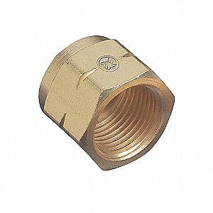 NIPPLE BRASS CGA555