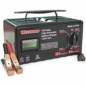 CHARGER BATTERY 10A 12/24V