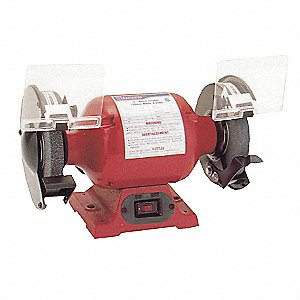 Astonishing Westward Bench Grinder 8In 3 4Hp Bench Buffers And Bench Ncnpc Chair Design For Home Ncnpcorg