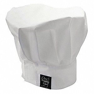 Chef Hat,White,13 Inch Tall