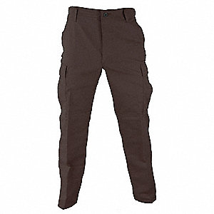 "Men's Tactical Pants. Size: S, Fits Waist Size: 27"" to 30"", Inseam: 29-1/2"" to 32-1/2"", Sheriff Brow"