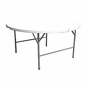 TABLE, FOLDING, ROUND, 45IN