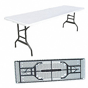 TABLE, FOLDING, RECTANGULAR, 6 FT
