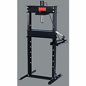 HYD SHOP PRESS 25T W/HAND (2 SPEED)