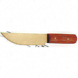 KNIFE 10IN NON-SPARK ALUM/BRNZ