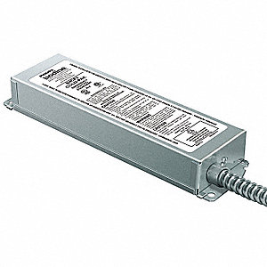 13 to 42W Fluorescent Emergency Ballast, 1250 Initial Lumens, 1 Lamp(s) Supported, Steel Housing Mat