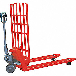 PALLET TRUCK 2500KG BACKRST 27X48IN