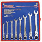 WRENCH RATCHET FLEX SET 8PC SAE