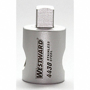 ADAPTER 1/2F X 3/8M STAINLESS