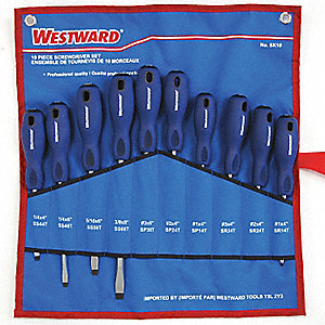 SCREWDRIVER SET 10 PCE PRO-SERIES