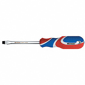 SCREWDRIVER SLOTTED 1/4 X 4IN