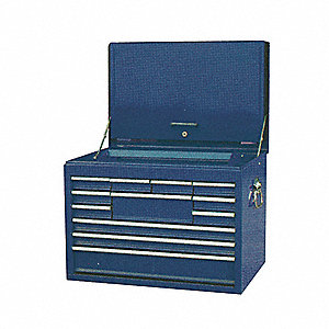 TOOL CHEST HD 12 DWR 26X18 BB SLDES
