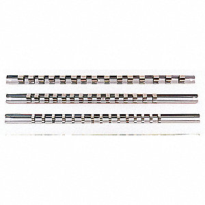 SOCKET HOLDER RAIL 3/8INDR
