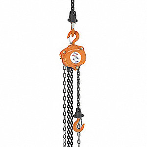 CHAIN HOIST 5 TON 15FT LIFT