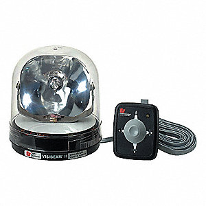 "Spot Light,Round,Halogen,6-1/2"" H"