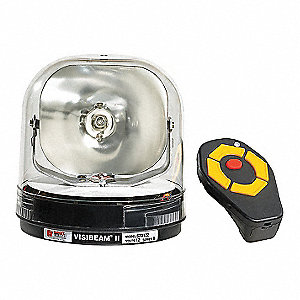 "Spot Light, Round, Halogen, 6-1/2"" H"