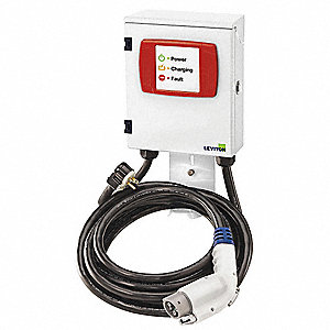 "9.00"" x 3.94"" x 11.28"" 16 Amp Electric Vehicle Charging Station"