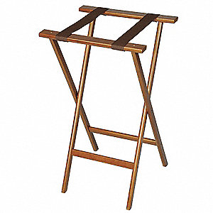 Deluxe Wood Tray Stand Bottom Strp
