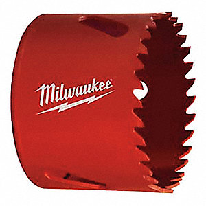 "1-1/8""-Dia. Hole Saw for Masonry, 1-5/8"" Max. Cutting Depth, 4 Teeth per Inch"