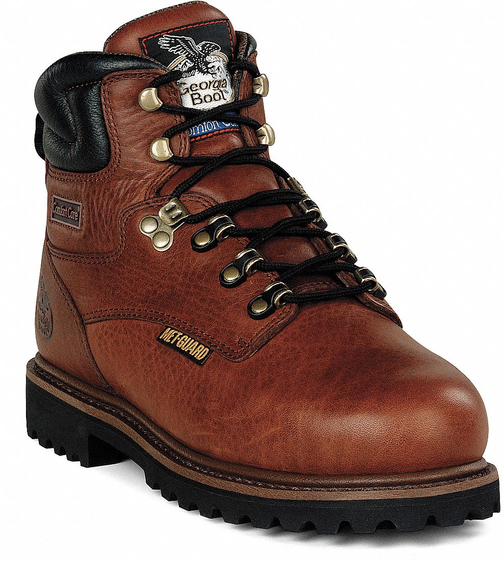 Steel-toe Work Boots And Shoes