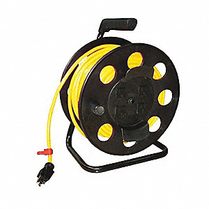 OUTLET CORD + REEL 12/3 100 FT