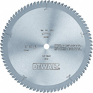 BLADE SAW 10IN 80T PLASTIC