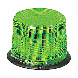 BEACON STROBE 4.25IN DIA GREEN