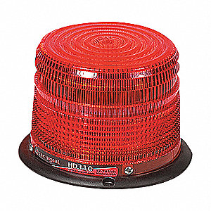 BEACON STROBE 4.25IN DIA RED