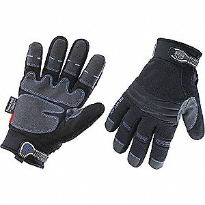 GLOVES 818OD THRML W/OUTDRY BLK S